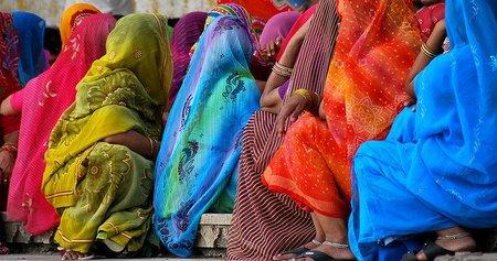 India: Ciudades monocromas en el estado de Rajasthan