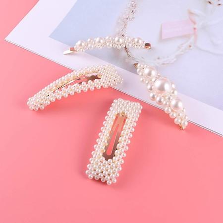 Horquillas Perlas 4