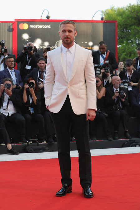Ryan Gosling First Man Premiere Opening Ceremony And Lifetime Achievement Award To Vanessa Redgrave Red Carpet Arrivals 75th Venice Film Festival