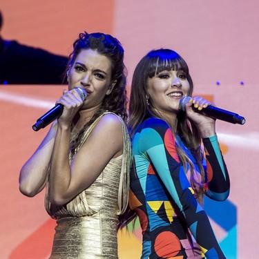 Eurovisión 2018: Aitana se viste de lujo para apoyar a Amaya y Alfred