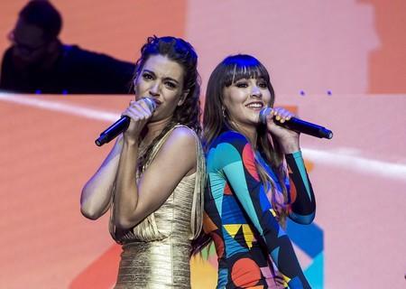 Eurovisión 2018: Aitana se viste de lujo para apoyar a Amaia y Alfred