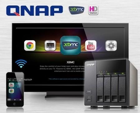 QNAP presenta un NAS con XBMC