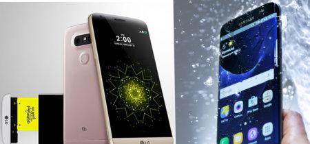 Samsung Galaxy S7 Vs LG G5: dos formas opuestas de innovar en el móvil