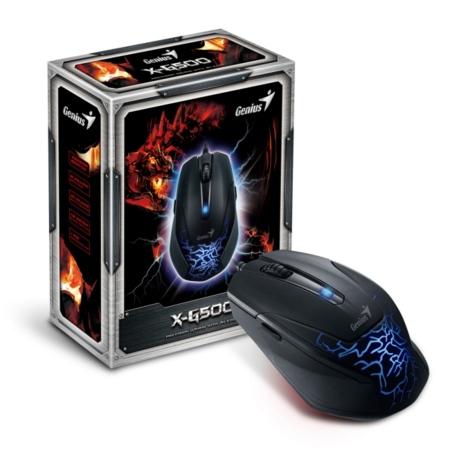 Genius X-G500, un ratón asequible para jugadores