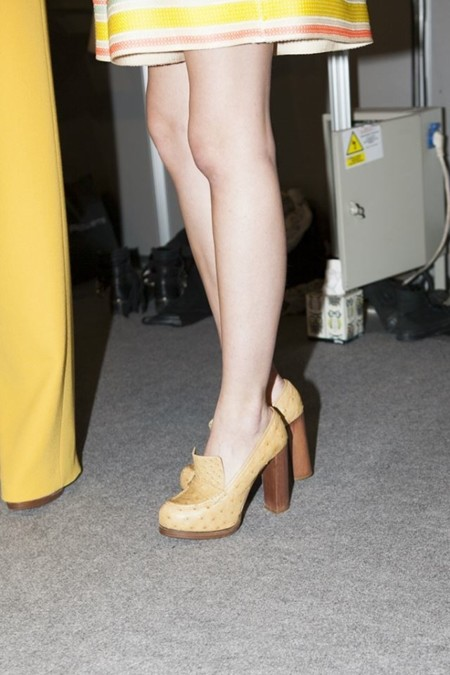 Amor a primera vista: los zapatos de Serena Whitehaven para Teresa Helbig