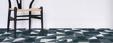 Pavimentos con diseños geométricos para celebrar los 100 años de Bauhaus