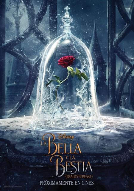 Cartel de La Bella y La Bestia
