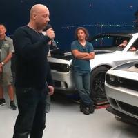 ¿Acaso Vin Diesel filtró el nuevo Dodge Challenger SRT Demon en este video?