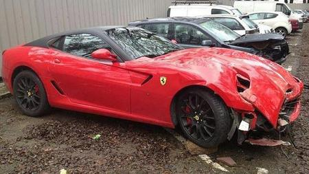 Dolorpazión™: el Ferrari 599 GTB que voló por Sevilla