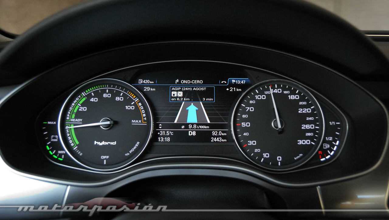 Audi A6 Hybrid Prueba 90 120