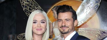 Katy Perry y Orlando Bloom dan la bienvenida a su hija de la que han compartido su primera foto