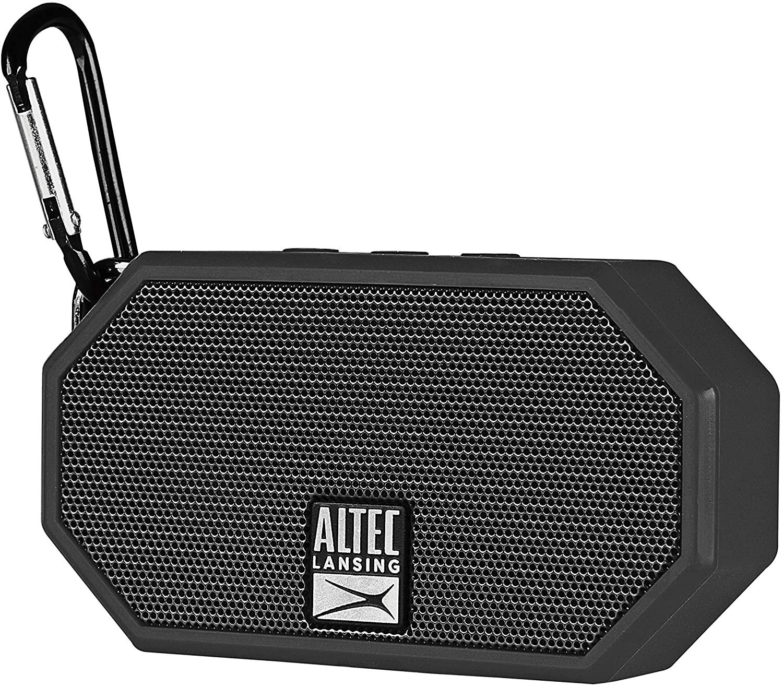 Altec Lansing® IMW257-BLK Mini H2O - Altavoz Bluetooth Impermeable, IMW257-BLK, Negro