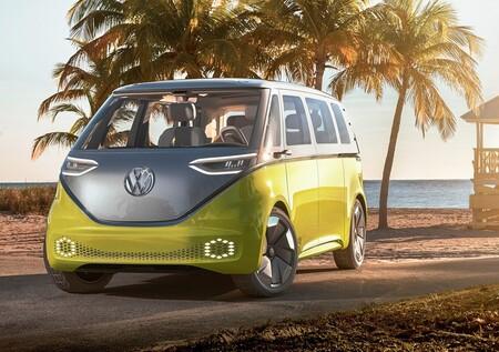 Volkswagen Id Buzz Concept 2017 1280 01