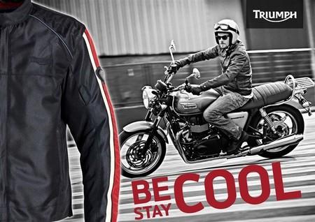 """Be Cool, Stay Cool"". Cómprate una Triumph Classic y llévate una chaqueta por la patilla"