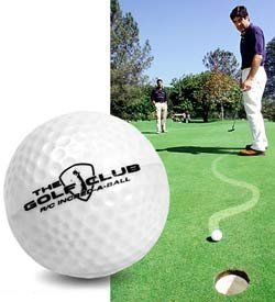 Jugar al golf con la incrediball