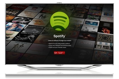 Spotify llega a los televisores de la mano de Samsung y sus Smart TV