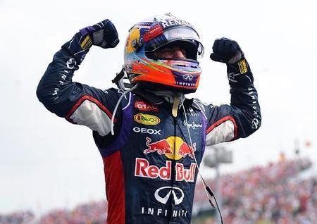 Daniel Ricciardo: dos victorias y mayor ventaja sobre Sebastian Vettel