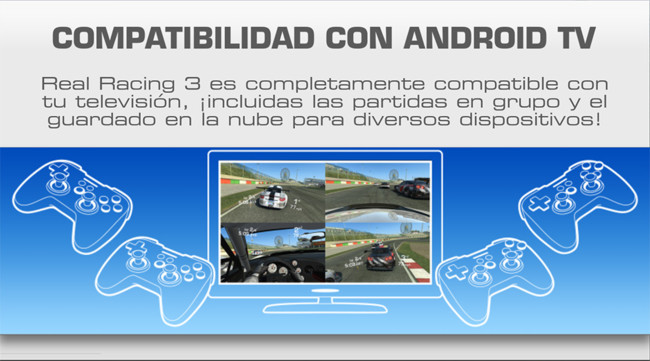 Real Racing 3 Comes to Android TV with Multiplayer Split-Screen