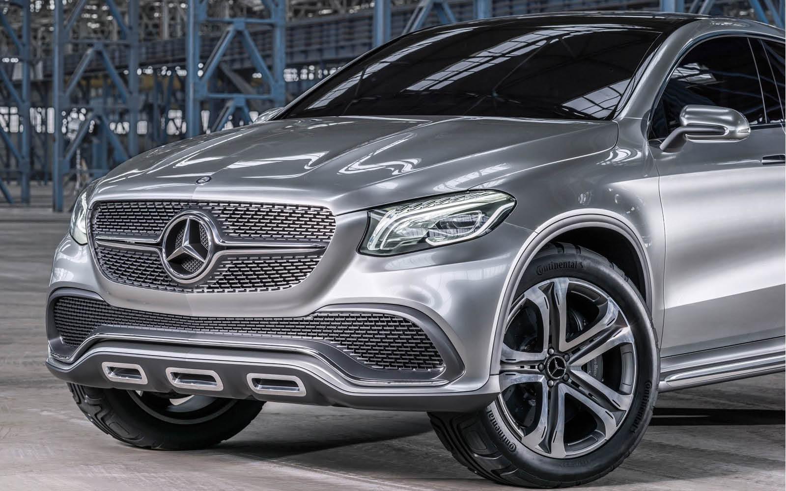Foto de Mercedes-Benz Coupé SUV Concept (23/30)