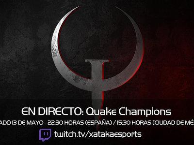 Quake Champions en directo a las 22:30 horas (las 15:30 en Ciudad de México) [Finalizado]