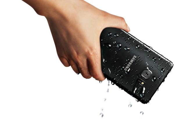 Galaxy Note7 resistencia al agua