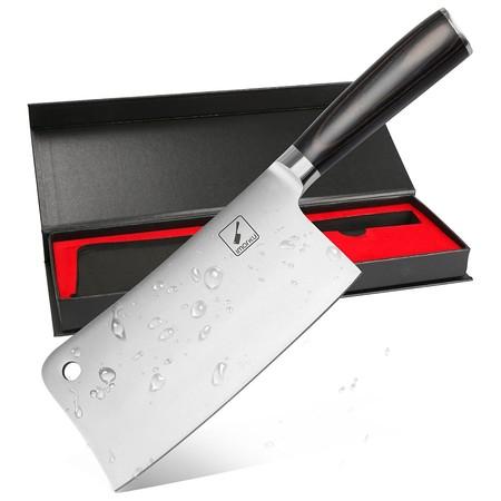 Oferta flash en el cuchillo de carnicero Imarku: hasta medianoche cuesta 20,99 euros en Amazon