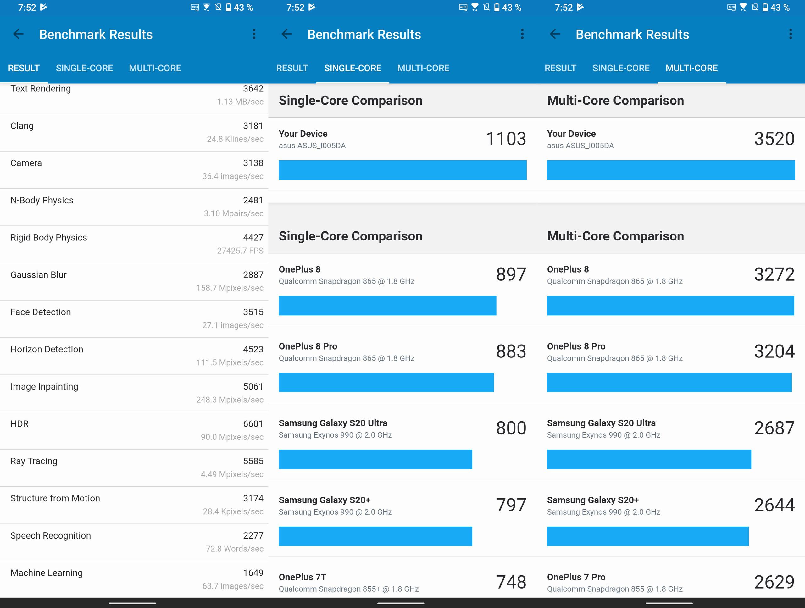 Foto de ASUS ROG Phone 5, benchmarks (3/4)