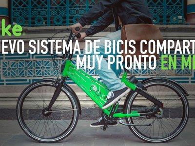 VBike, así es el nuevo sistema de bicicleta compartida que llega a Ciudad de México