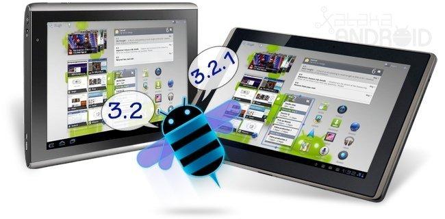 Asus Transformer 3.2.1 y Acer Iconia Tab 3.2