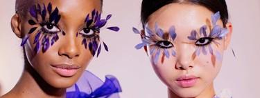 Maquillaje de Alta Costura a un solo click: un filtro inspirado en las plumas de Valentino es la última fantasía de Instagram