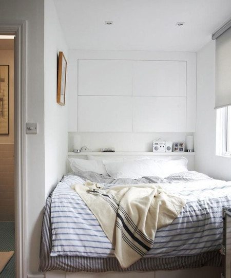 8 ideas para decorar dormitorios peque os - Decorar dormitorio pequeno ...
