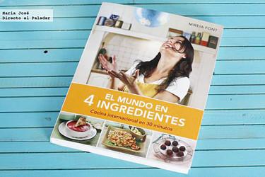 El mundo en 4 ingredientes, cocina internacional en 30 minutos. Libro de recetas