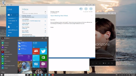 Ya está disponible la build de enero de Windows 10 Technical Preview