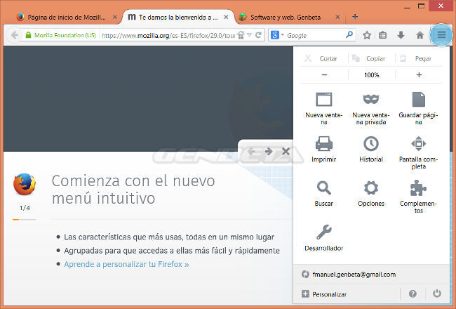 Foto de Firefox 29 con Australis (1/4)