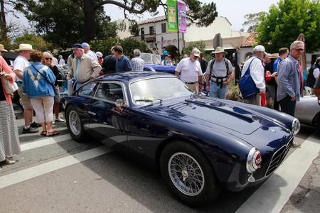 La media de edad de los coches y los visitantes