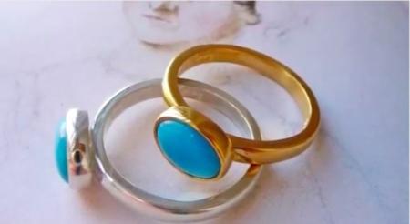 Siéntete como Jane Austen con esta réplica de uno de sus anillos