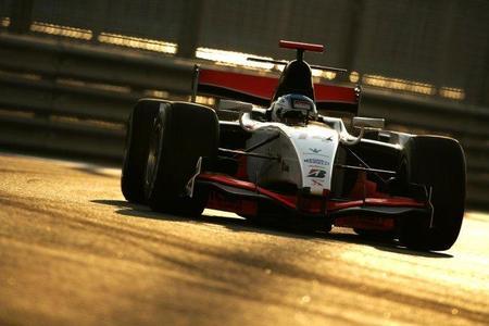 Fabio Leimer consigue el mejor tiempo en el segundo día de pruebas de la GP2 en Abu Dhabi
