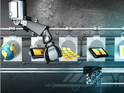ARM presenta sus procesadores con aceleración 3D