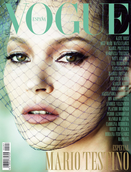 Vogue España, diciembre de 2012