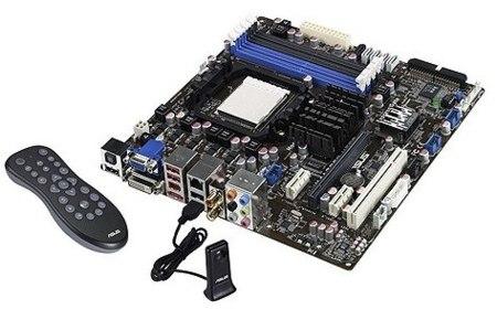 Nueva placa Asus M4A785G HTPC para ordenadores multimedia, hasta 10 canales de sonido HD