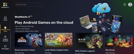 BlueStacks X permite jugar a juegos Android desde la nube en cualquier dispositivo: así es este emulador online