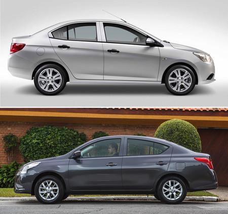 Chevrolet Aveo Vs Nissan Versa 3