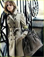 Emma Watson preciosa para la campaña de Burberry