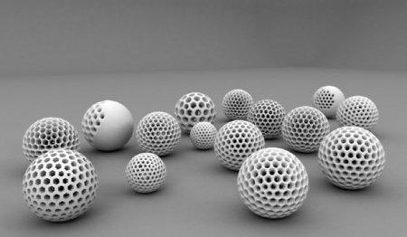 La adivinanza decorativa del viernes: esferas