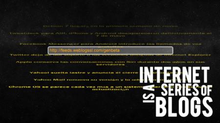 Comprar seguidores en Twitter, atajos de teclado en Gmail y el lector RSS galáctico. Internet is a series of blogs (CC)