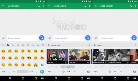Teclado Android 7.1