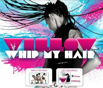 Willow Smith empieza su triunfal carrera con Whip My Hair