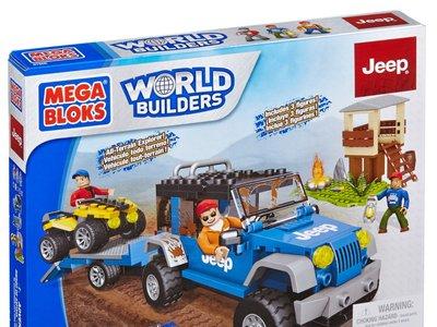 Mega Bloks Expedición Forestal Jeep por 12 euros en Amazon