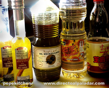 Los aceites comestibles en la cocina I