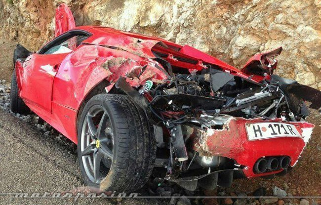 Ferrari 458 Spider - Dolorpasión